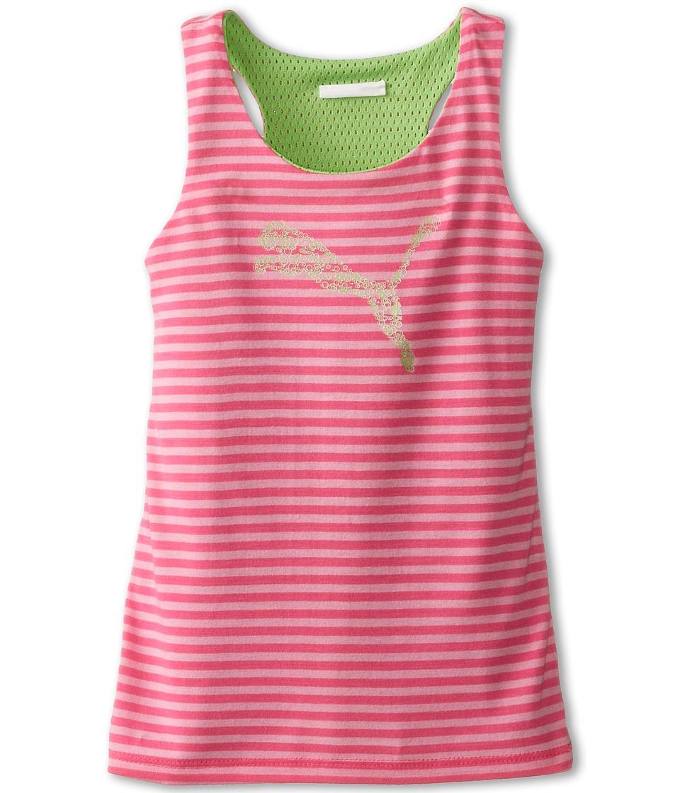 Puma Kids - Revesible Cat Tank Top (Little Kids) (Pink Glo) Girl's Sleeveless