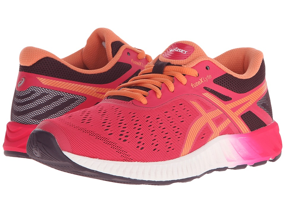 ASICS - FuzeX Lyte (Azalea/Melon/Eggplant) Women's Running Shoes