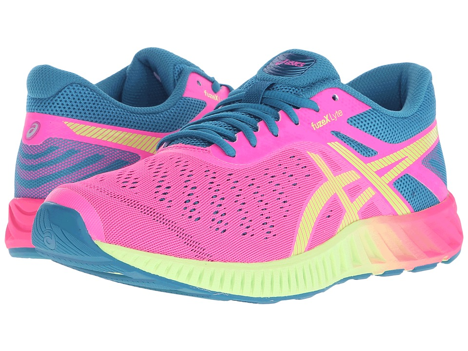 ASICS FuzeX Lyte (Hot Pink/Sharp Green/Ocean Depths) Women