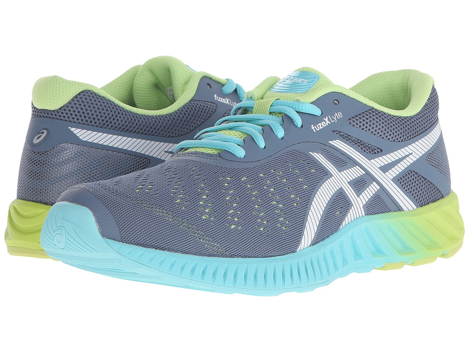 ASICS - FuzeX Lyte (Blue Mirage/White/Sharp Green) Women's Running Shoes