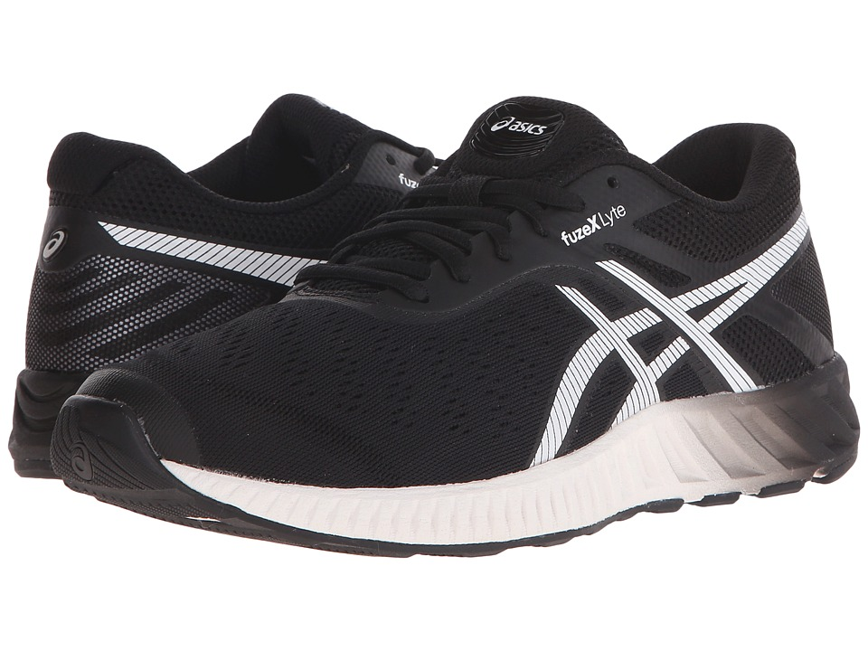 ASICS - FuzeX Lyte (Black/White/Onyx) Women's Running Shoes