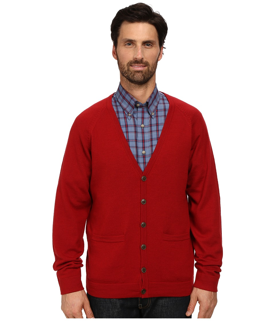 Pendleton - Cardigan (Red) Men's Sweater