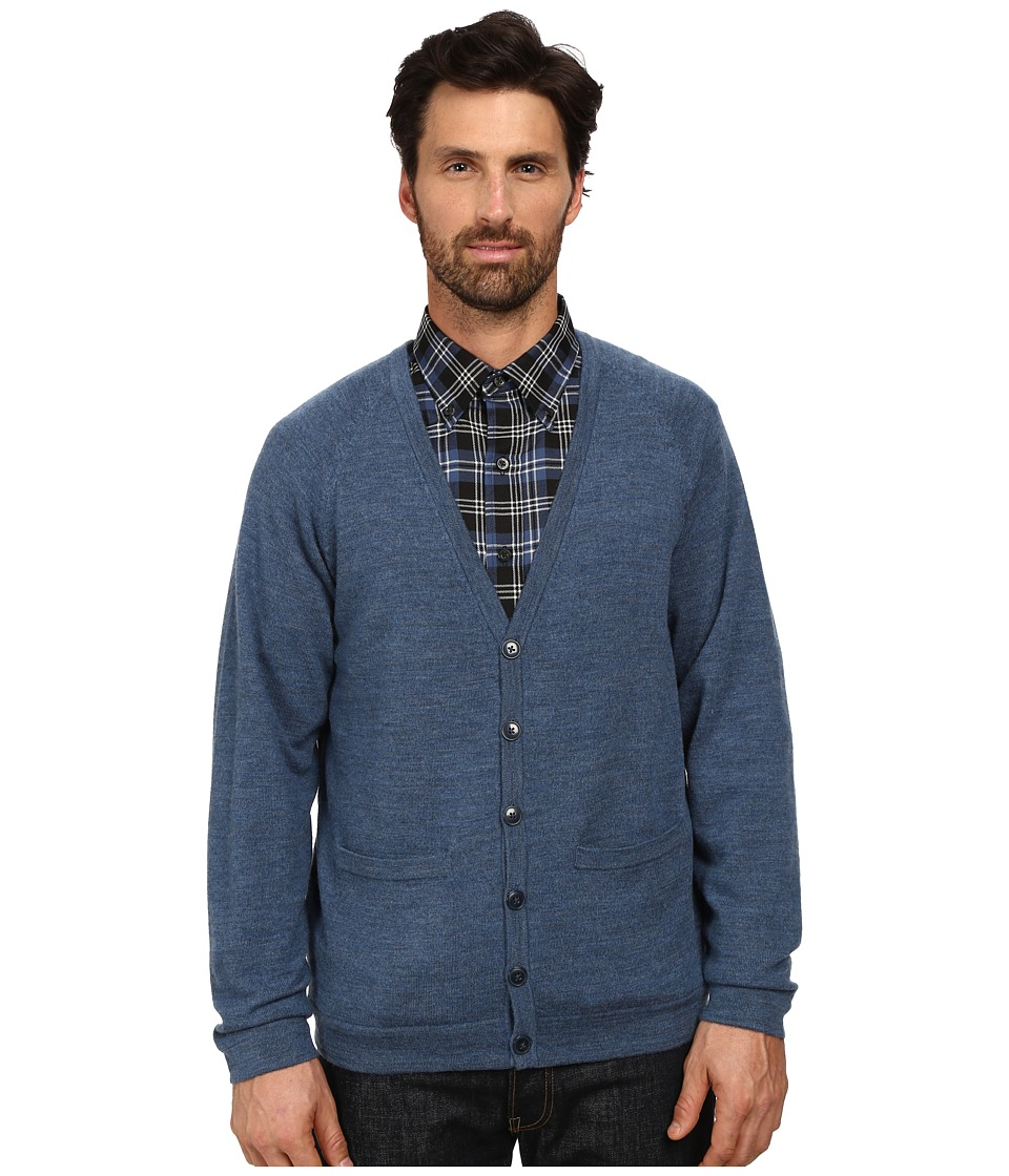 Pendleton - Cardigan (Air Force Blue) Men's Sweater