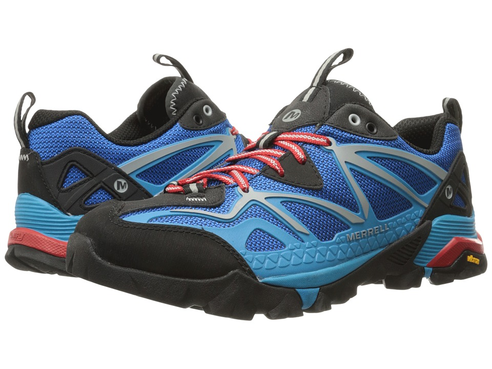 Merrell - Capra Sport (Blue) Men's Lace up casual Shoes