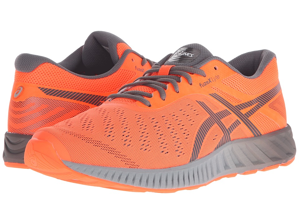 ASICS - FuzeX Lyte (Hot Orange/Carbon/White) Men's Running Shoes