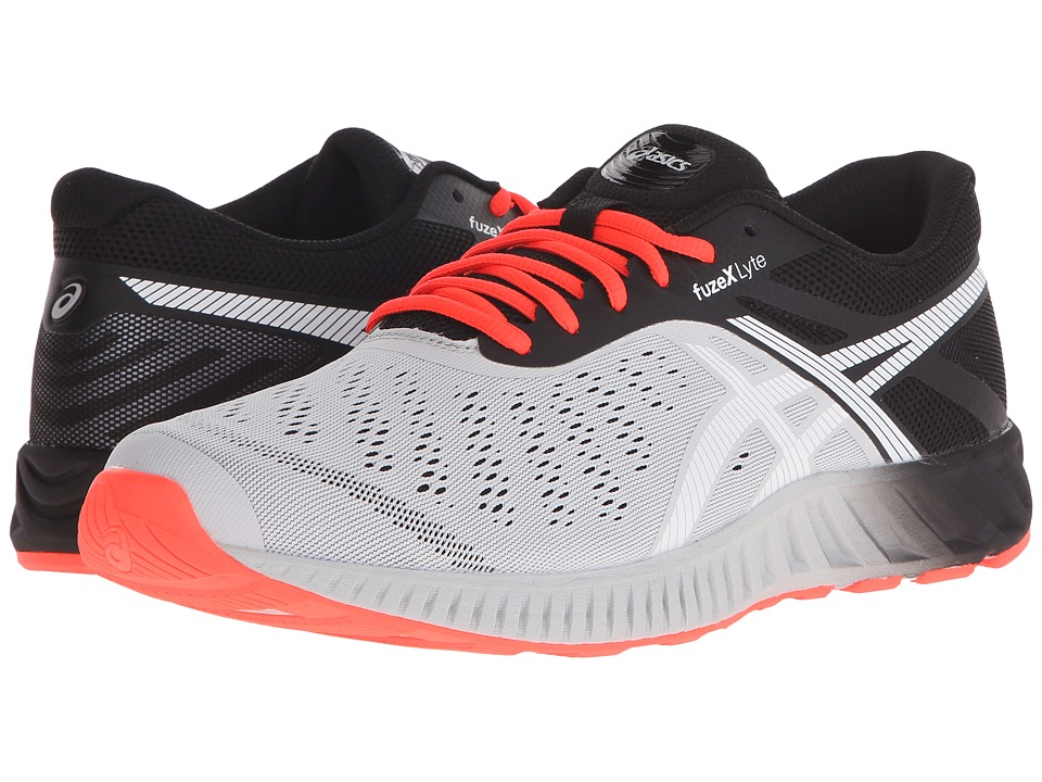ASICS FuzeX Lyte (Light Gray/White/Flash Coral) Men