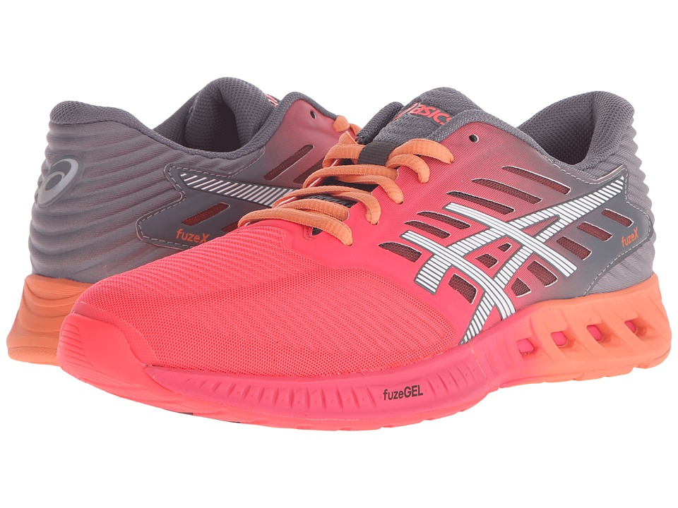 ASICS - FuzeX (Diva Pink/White/Carbon) Women's Running Shoes