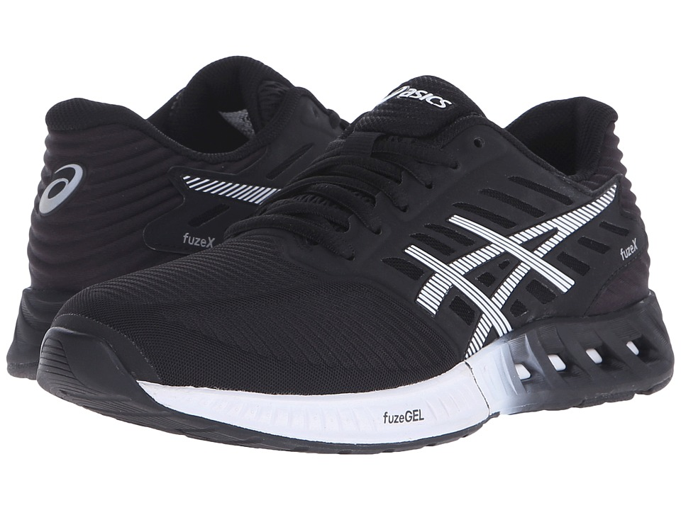 ASICS - FuzeX (Black/White/Onyx) Women's Running Shoes