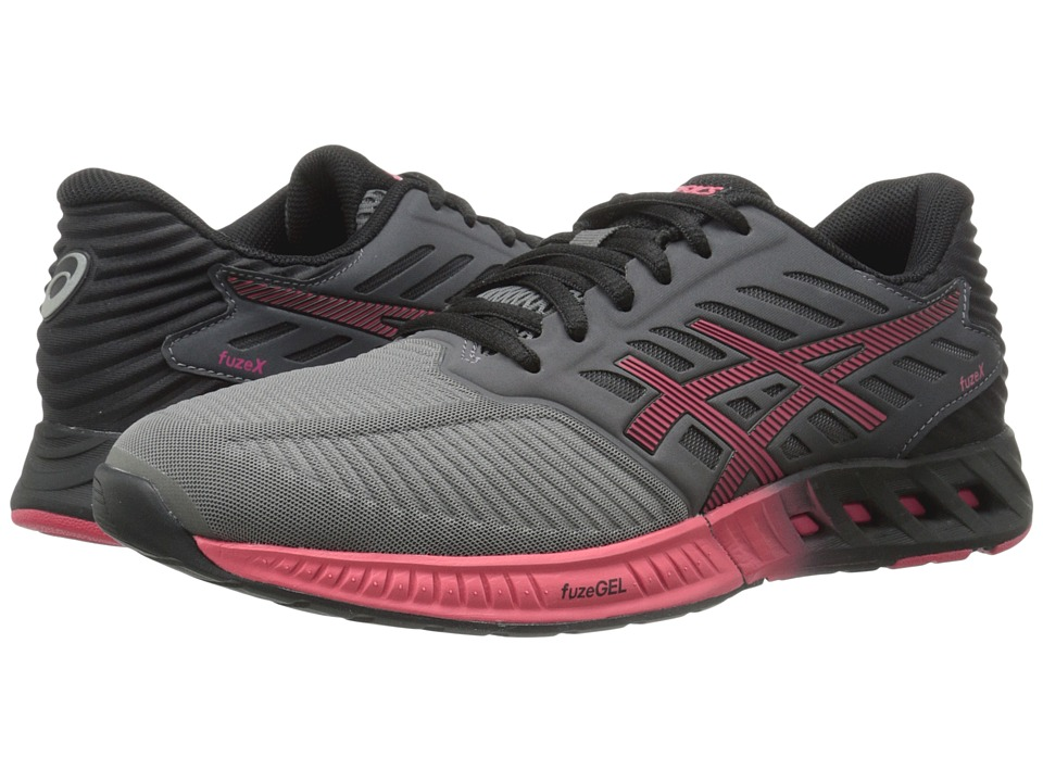 ASICS - FuzeX (Titanium/Azalea/Black) Women's Running Shoes