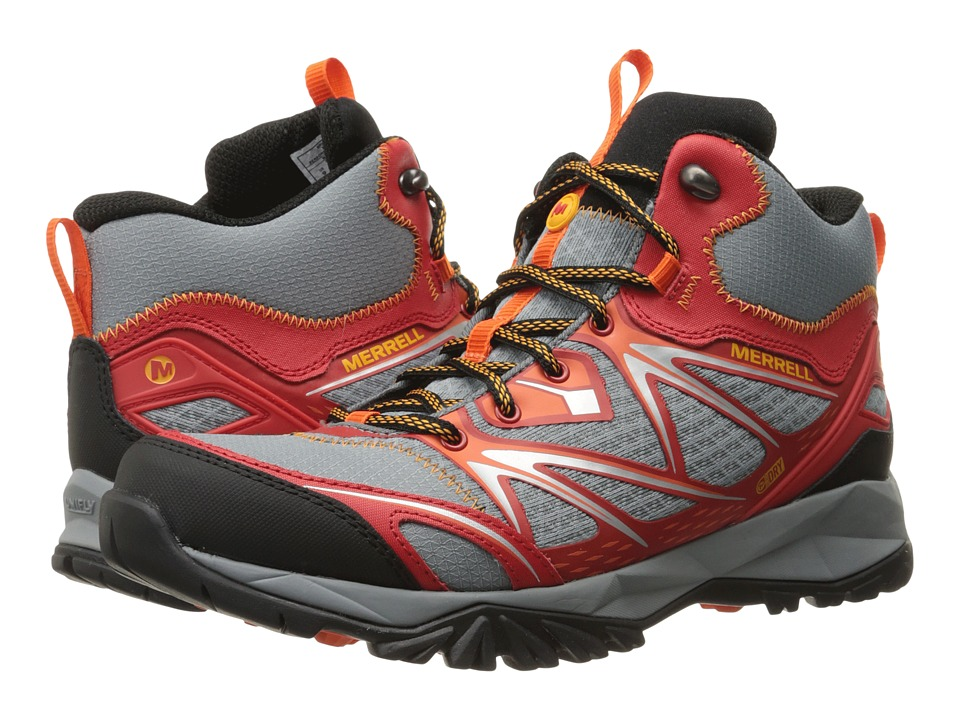 Merrell Capra Bolt Mid Waterproof (Bright Red) Men