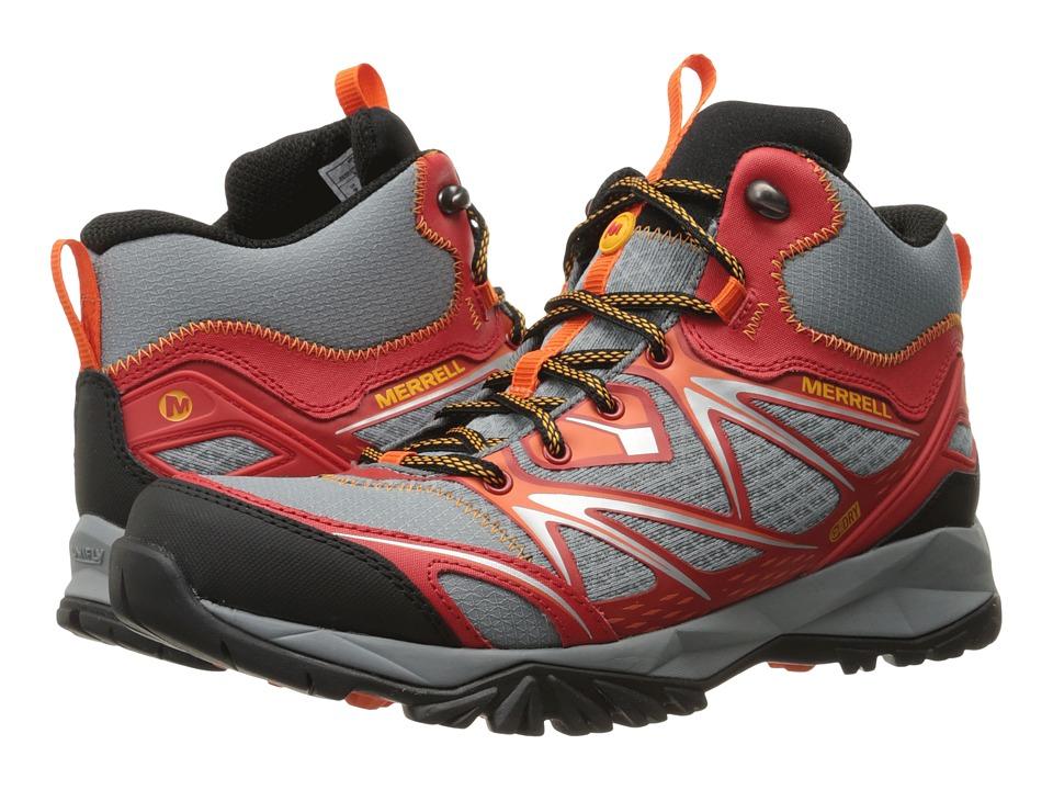 Merrell - Capra Bolt Mid Waterproof (Bright Red) Men's Shoes