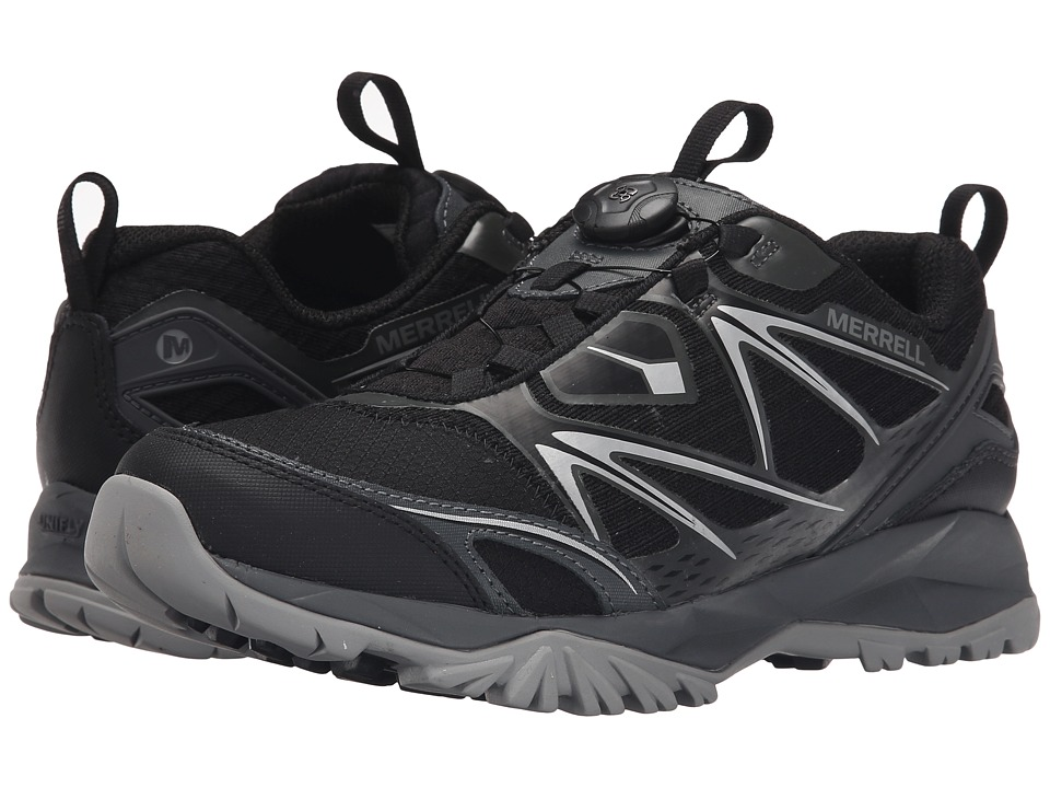 Merrell - Capra Bolt Boa (Black) Men's Shoes