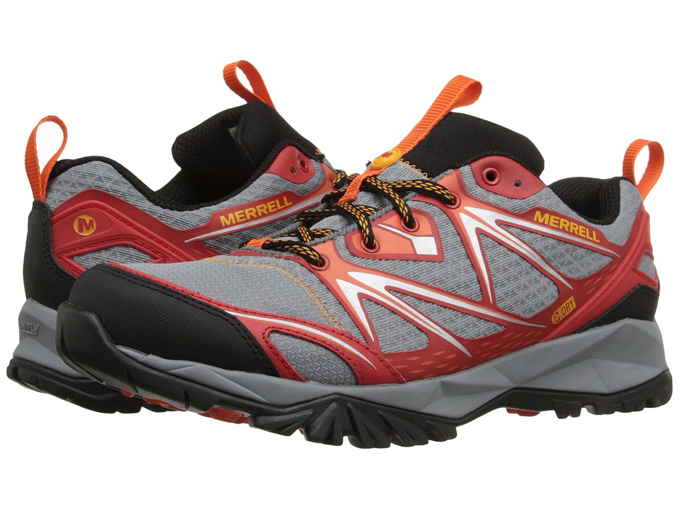 Merrell Capra Bolt Waterproof (Bright Red) Men