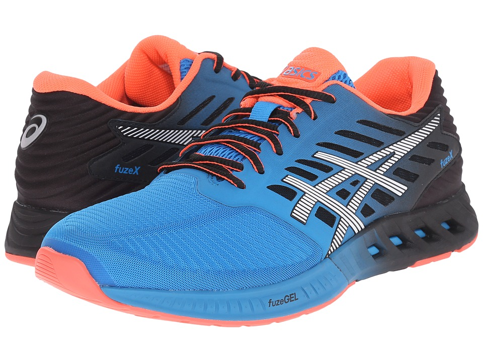 ASICS - FuzeX (Methyl Blue/White/Black) Men's Running Shoes