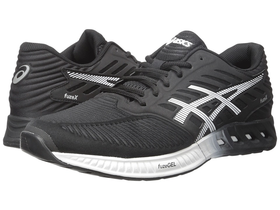 ASICS - FuzeX (Black/White/Onyx) Men's Running Shoes