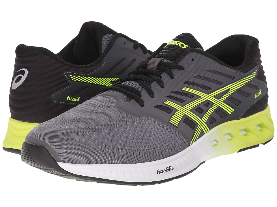 ASICS FuzeX (Cabon/Flash Yellow/Black) Men
