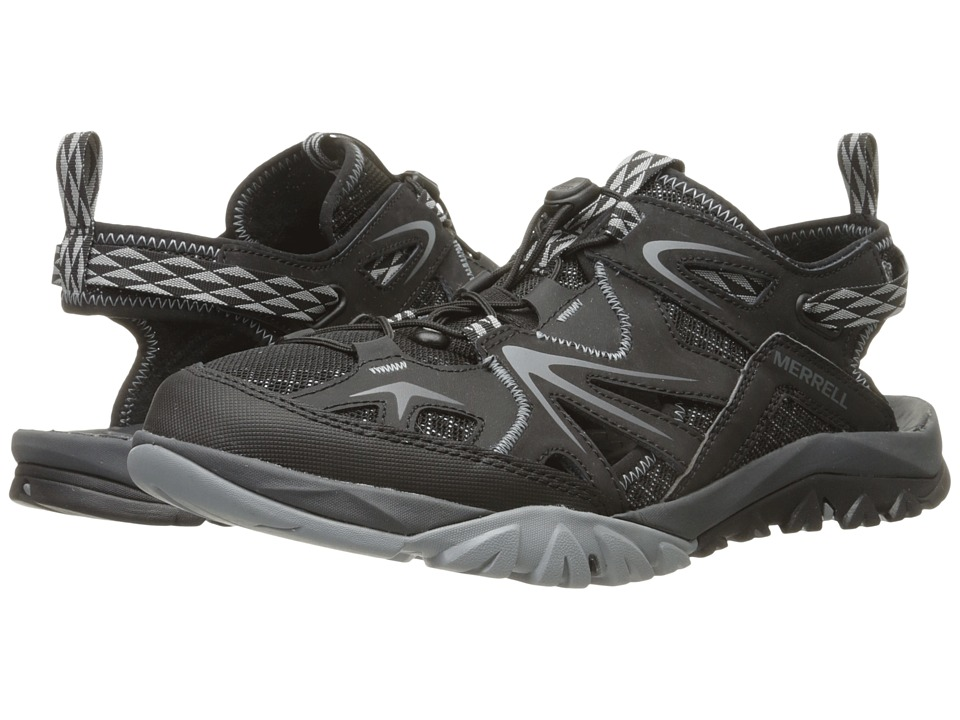 Merrell - Capra Rapid Sieve (Black) Men's Shoes
