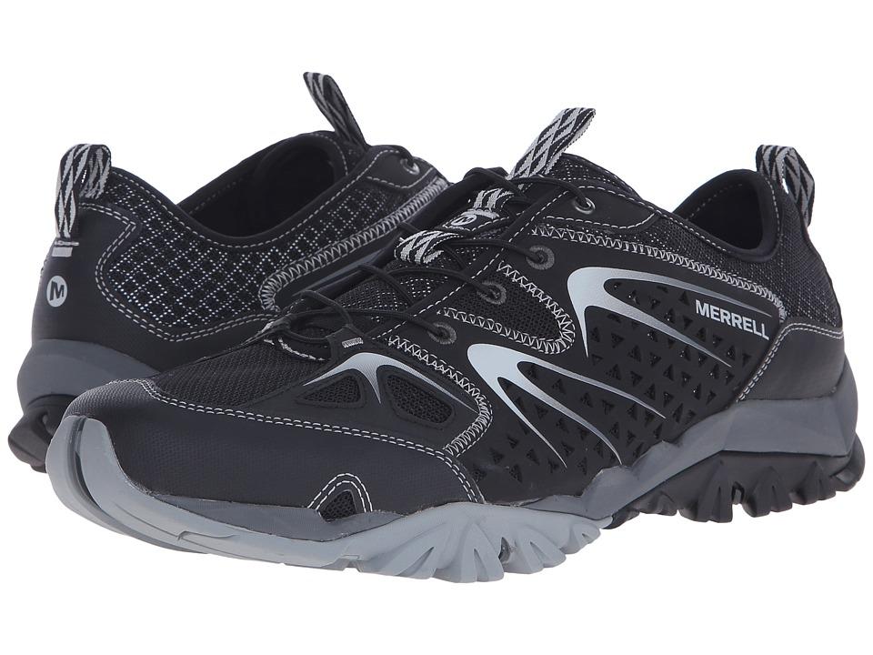 Merrell - Capra Rapid (Black) Men's Shoes