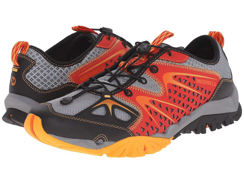 Merrell - Capra Rapid (Bright Red) Men's Shoes