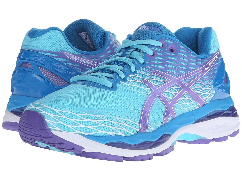 ASICS - Gel-Nimbus 18 (Turquoise/Iris/Methyl) Women's Running Shoes