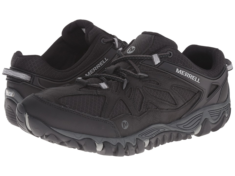 Merrell - All Out Blaze Vent (Black) Men's Shoes