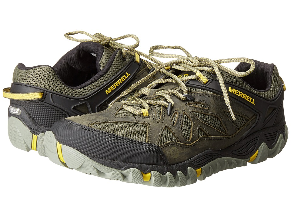 Merrell - All Out Blaze Vent (Olive) Men's Shoes