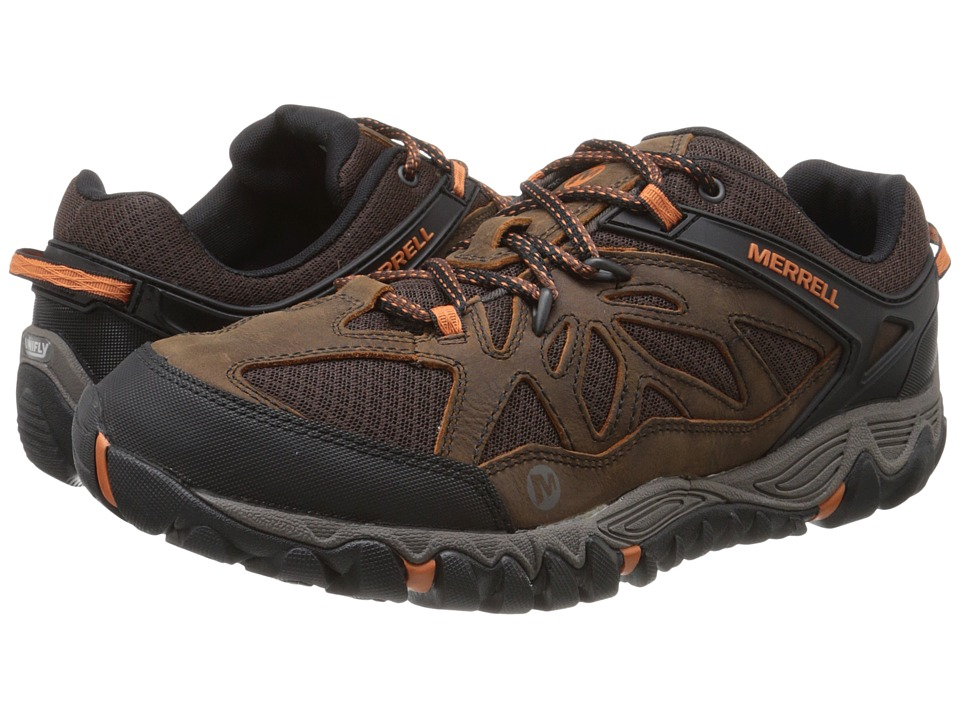 Merrell - All Out Blaze Vent (Burnt Maple) Men's Shoes
