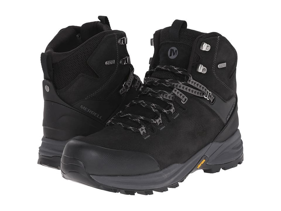 Merrell - Phaserbound Waterproof (Black) Men's Shoes