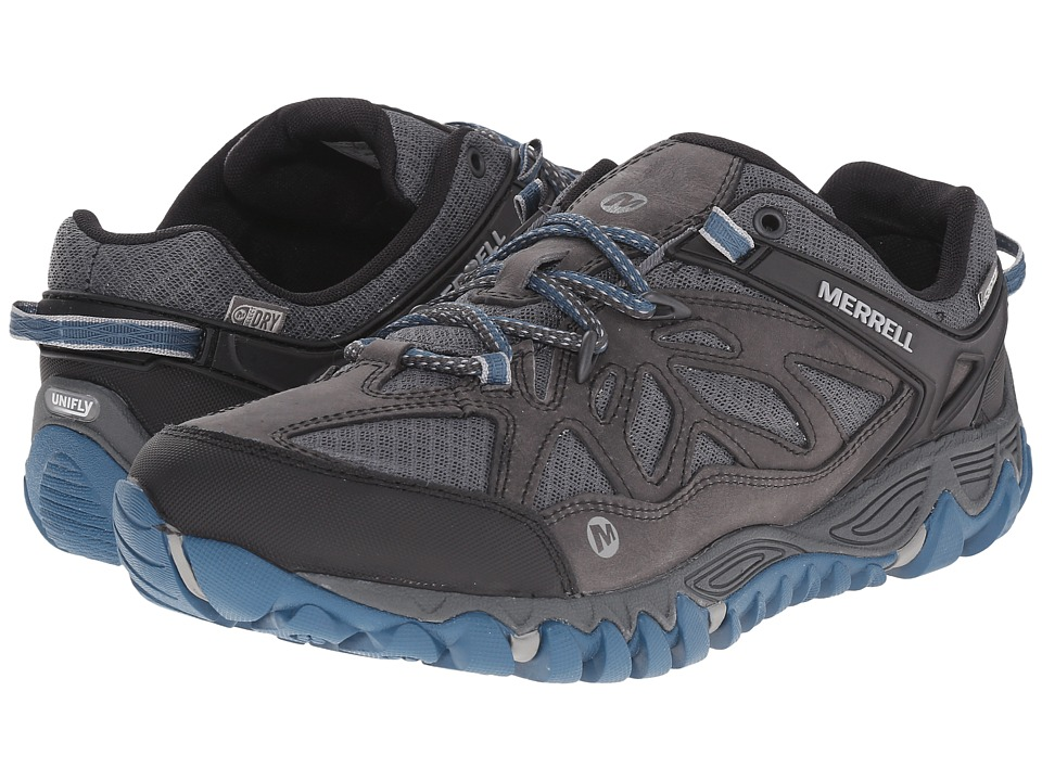 Merrell - All Out Blaze Vent Waterproof (Grey/Multi) Men's Shoes