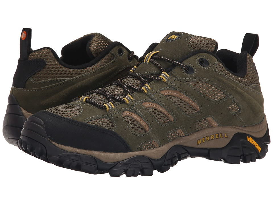 Merrell - Moab Ventilator (Olive) Men's Lace up casual Shoes