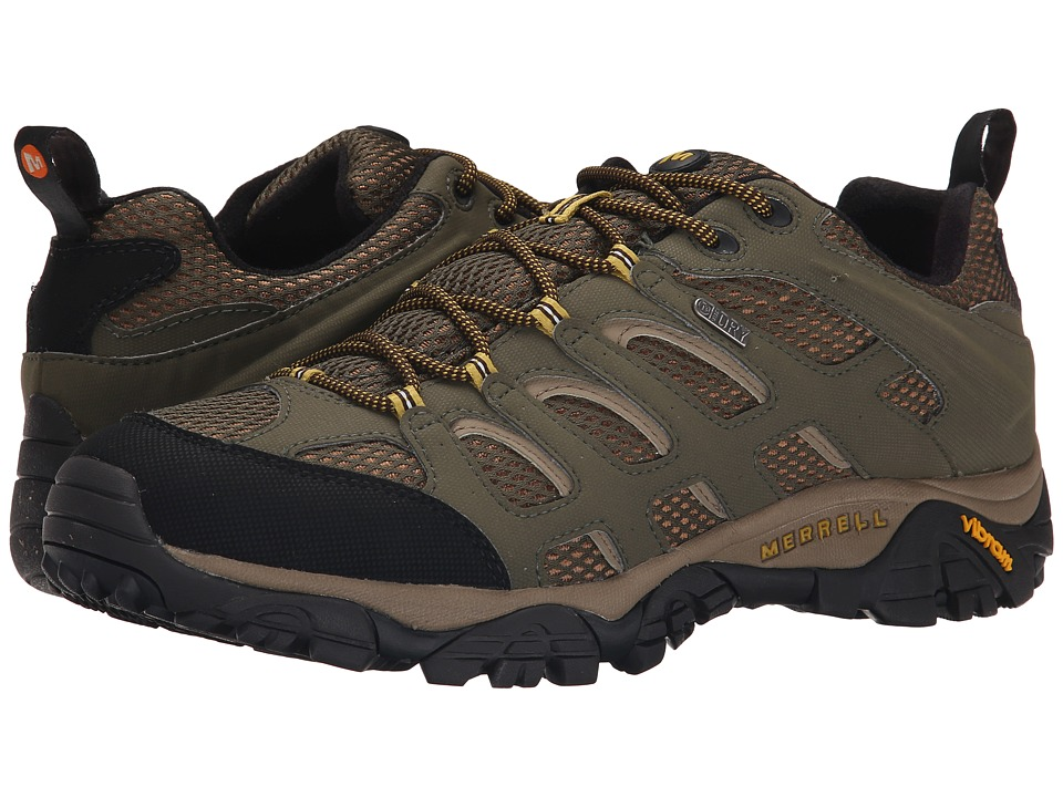 Merrell - Moab Waterproof (Olive) Men's Lace up casual Shoes