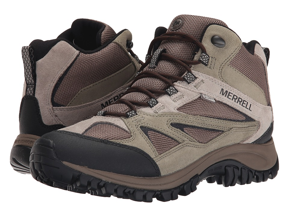 Merrell - Phoenix Bluff Mid Waterproof (Putty) Men's Shoes