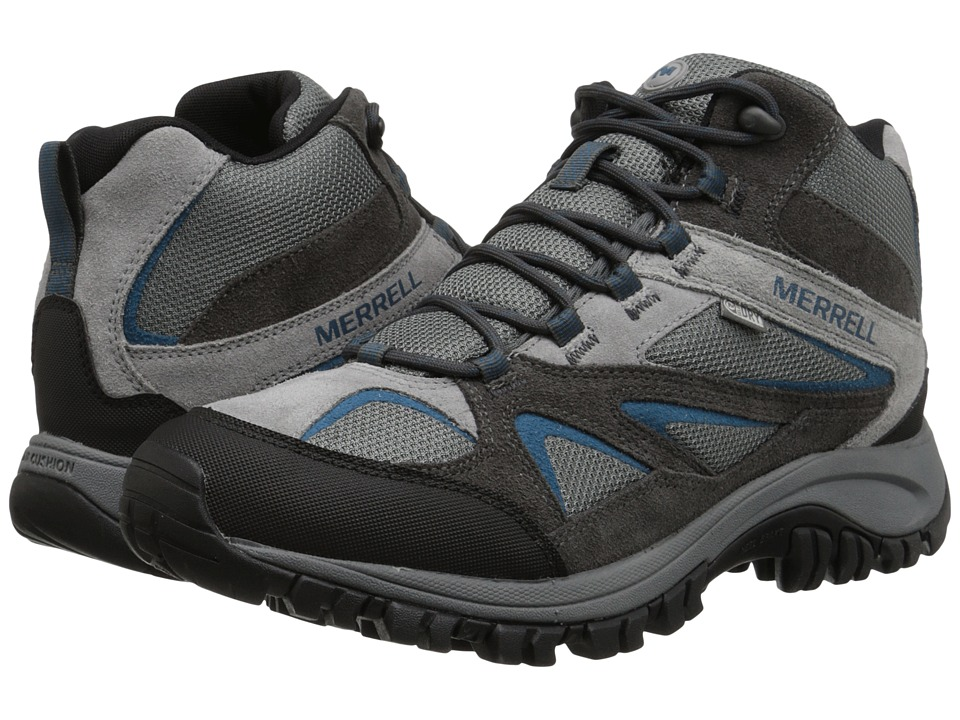 Merrell - Phoenix Bluff Mid Waterproof (Grey) Men's Shoes