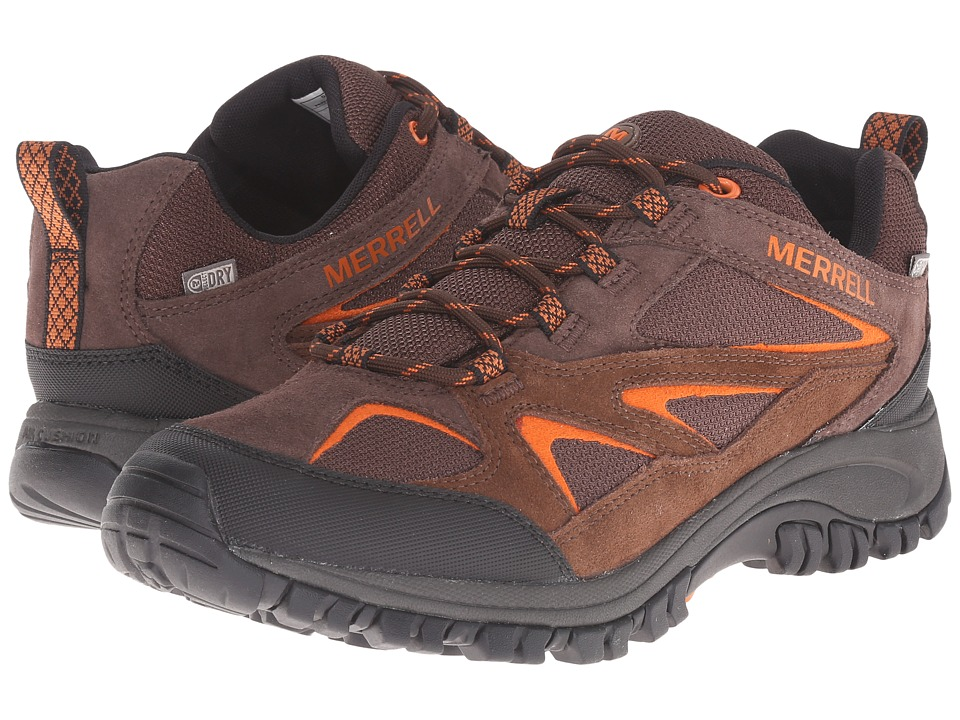 Merrell - Phoenix Bluff Waterproof (Dark Brown) Men's Shoes