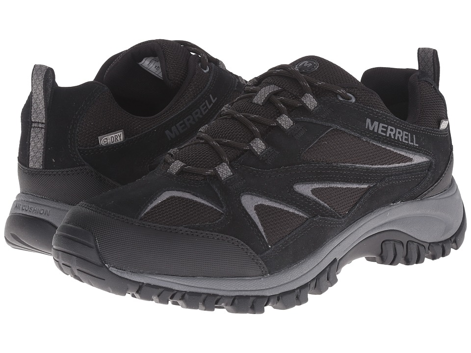 Merrell - Phoenix Bluff Waterproof (Black) Men's Shoes