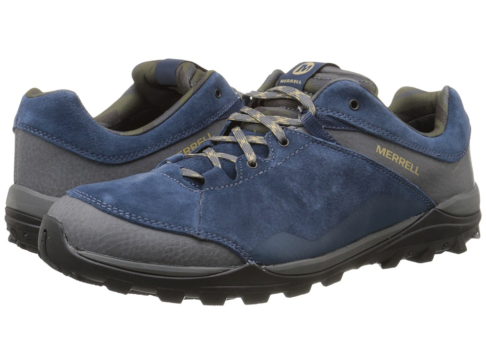 Merrell - Fraxion (Navy) Men's Climbing Shoes