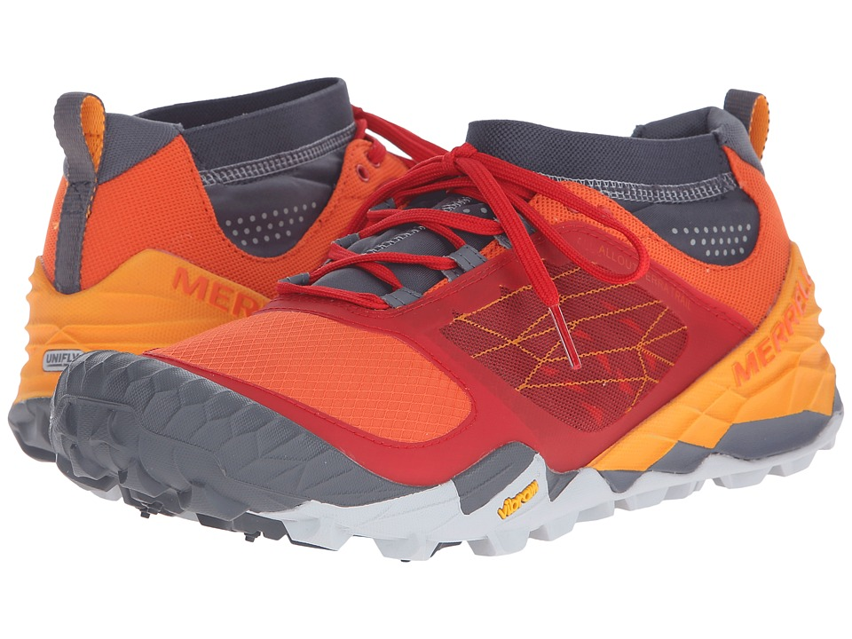 Merrell - All Out Terra Trail (Orange) Men's Running Shoes
