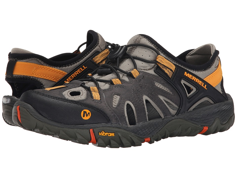 Merrell - All Out Blaze Sieve (Grey) Men's Shoes