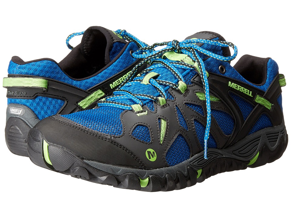 Merrell - All Out Blaze Aero Sport (Bright Blue) Men's Shoes