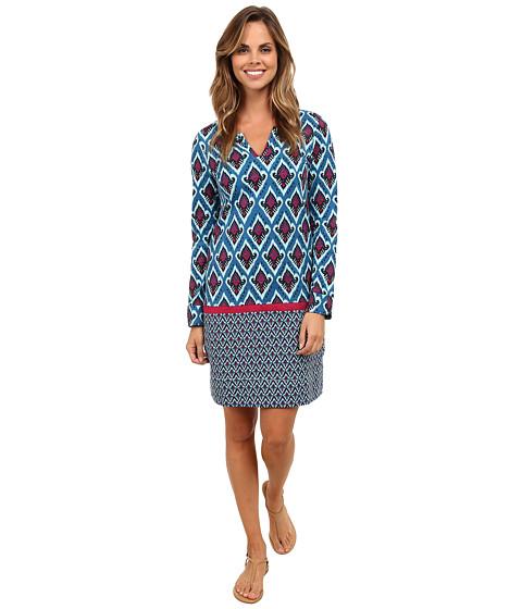 Hatley - Peplum Dress (Ikat) Women