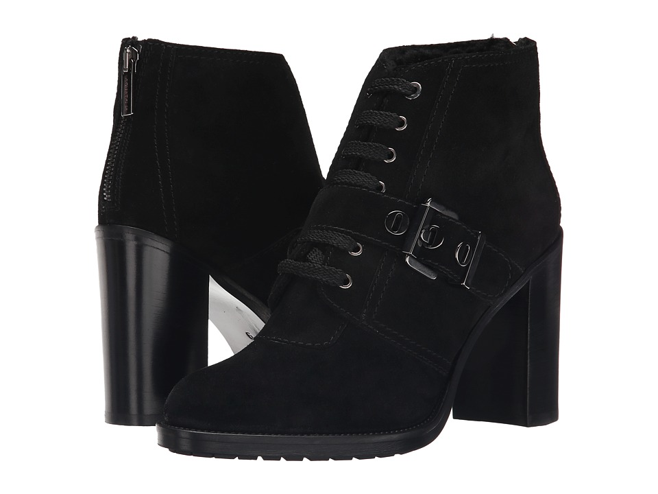 Aquatalia - Brooke (Black Suede) High Heels