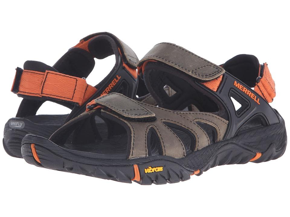 Merrell - All Out Blaze Sieve Convert (Light Brown) Men's Shoes