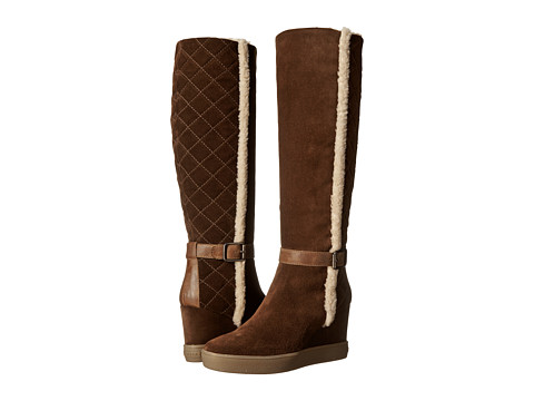Aquatalia - Callie (Chestnut Suede) Women's Zip Boots