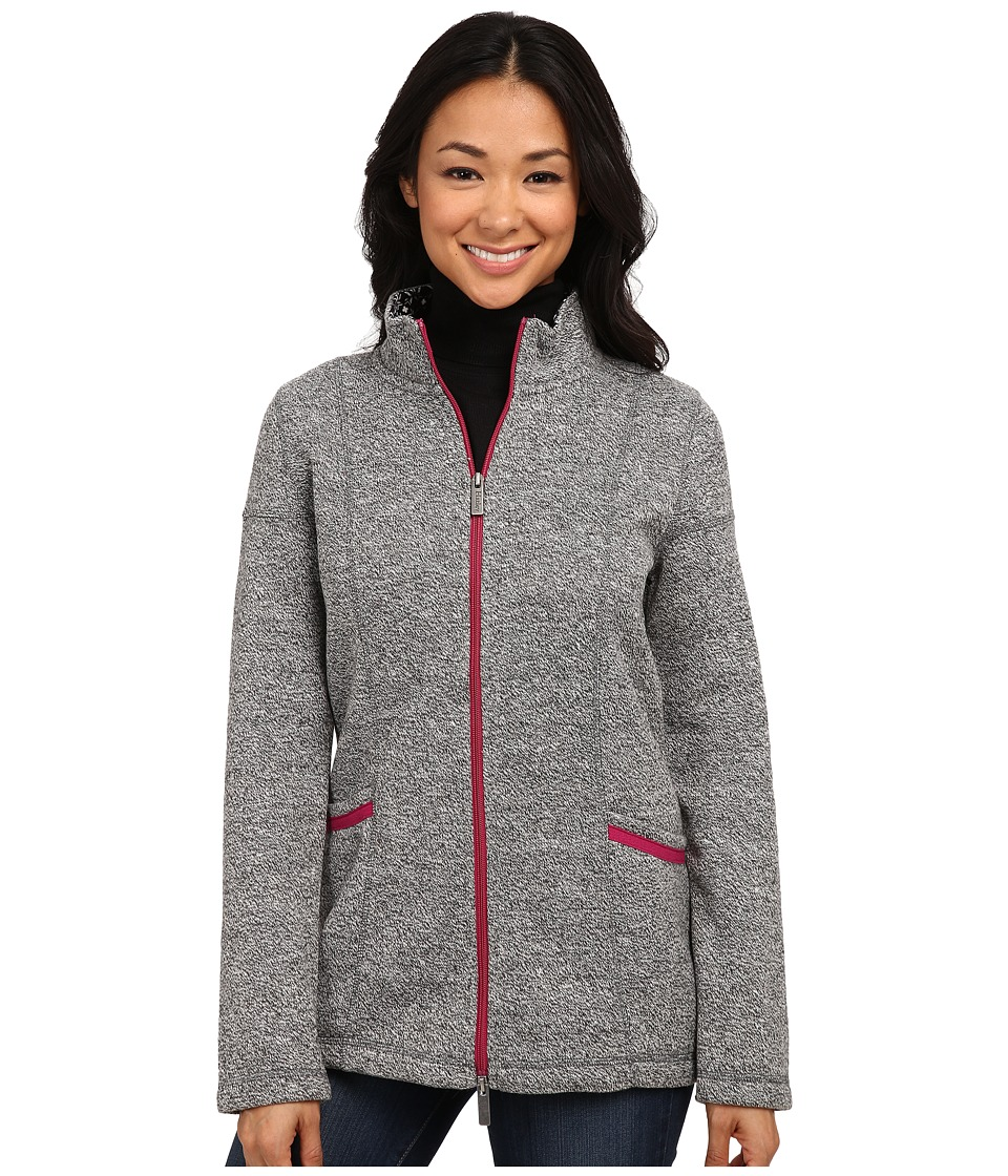Hatley - Mock Neck Jacket (Charcoal Sherpa) Women's Jacket