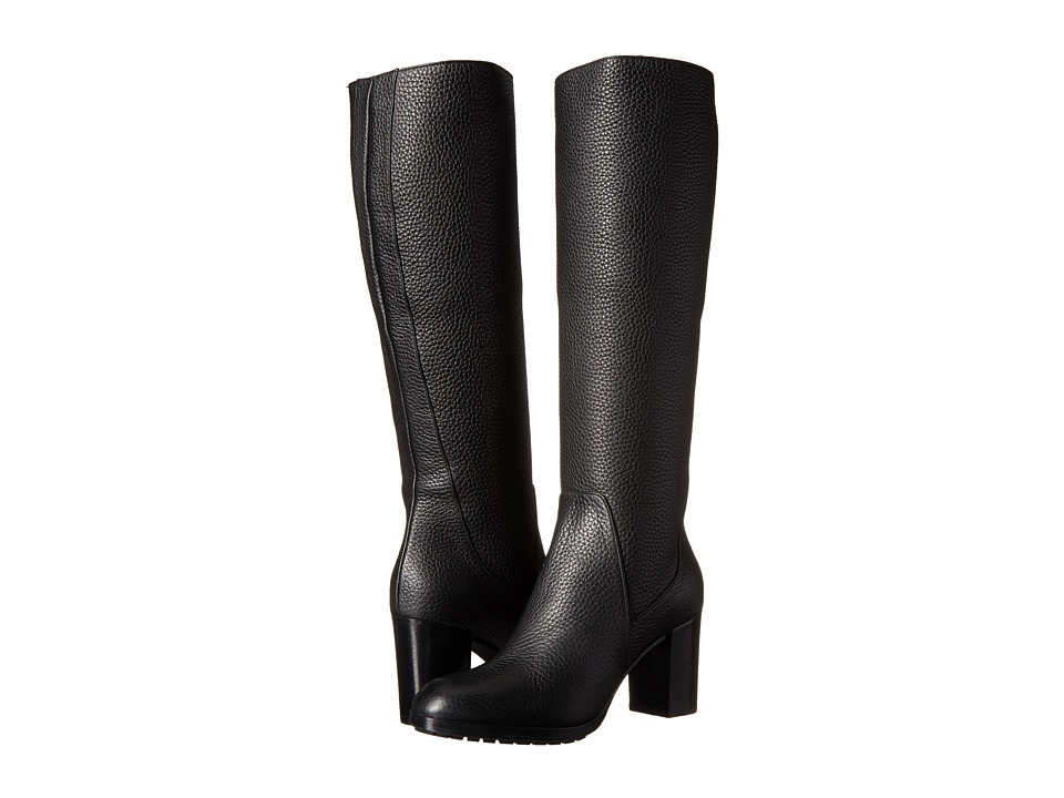 Aquatalia - Edlyn (Black Calf) Women's Zip Boots