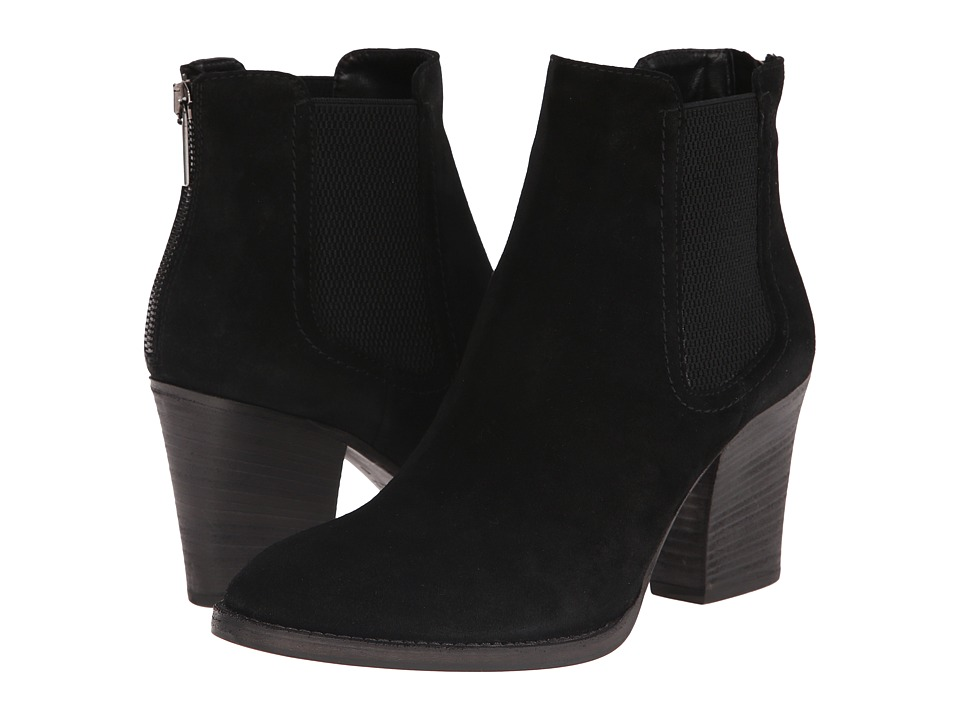 Aquatalia - Fairly (Black Suede) Women's Boots