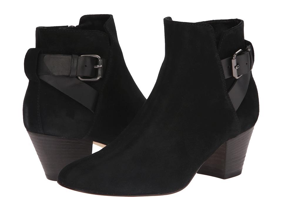 Aquatalia - Fae (Black Suede) Women's Boots