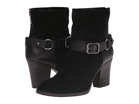 Aquatalia - Fanya (Black Suede/Calf) Women