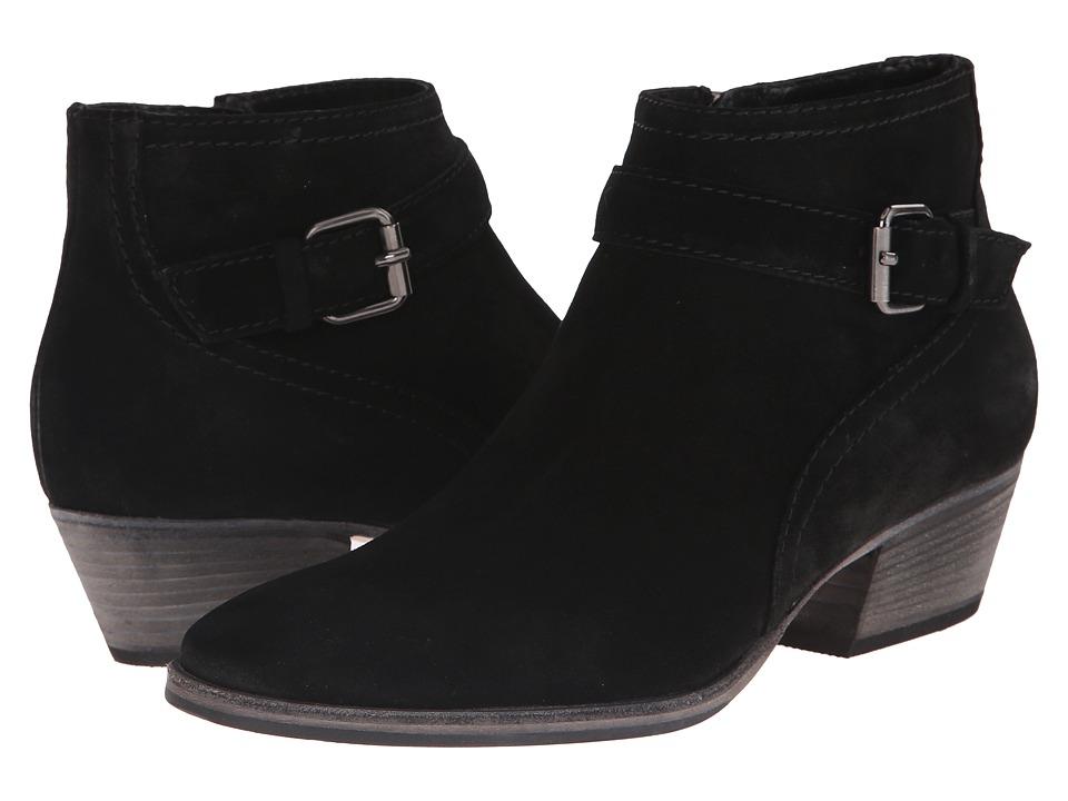 Aquatalia - Fanny (Black Suede) Women's Boots