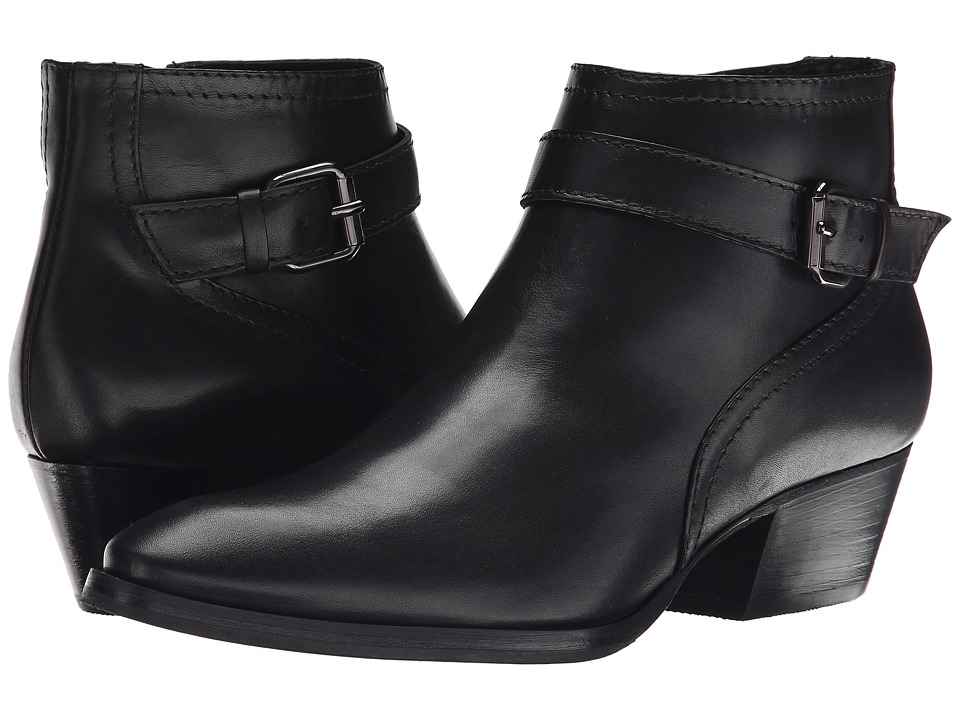 Aquatalia - Fanny (Black Calf) Women's Boots